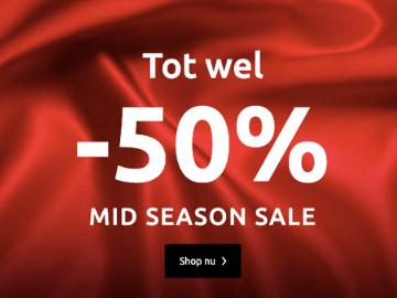BonPrix mid season sale: korting tot 50%