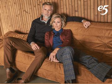 e5 mode promoties: alle broeken aan 2 + 1 gratis