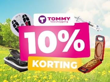Exclusieve kortingscode Tommy Teleshopping: bespaar 10% op het hele assortiment