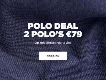 G-Star korting: bespaar €20 bij aankoop van 2 polo's