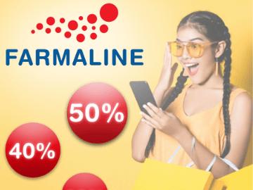 Grote promoties bij Farmaline: tot 47% korting op producten