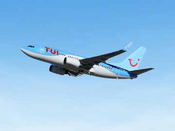 Kortingscode TUI fly: 10% extra op tickets