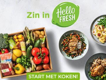 Krijg €40 korting op de eerste 3 maaltijdboxen bij HelloFresh